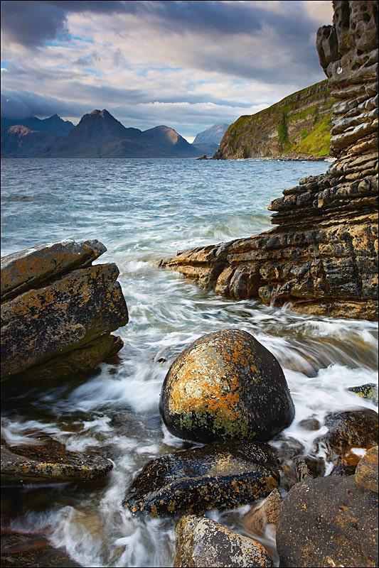 Elgol Stonewash - Photographs of Scotland