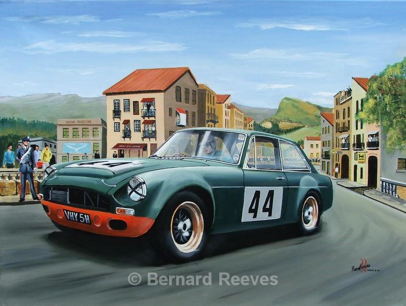 MGC Targa Florio - Classic cars
