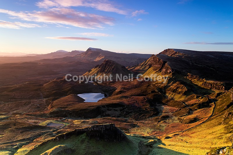 The Quiraing, Isle of Skye2 - Landscape format