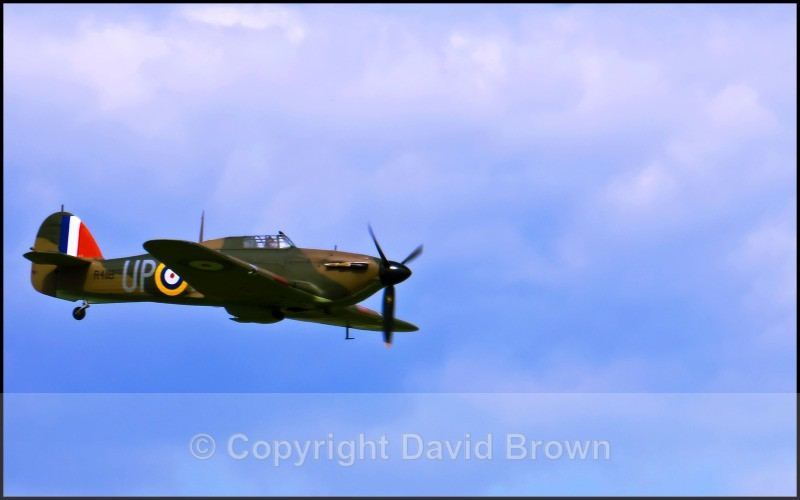 NM Air Pageant Hawker Hurricane 43 - North Moreton Air Pageant