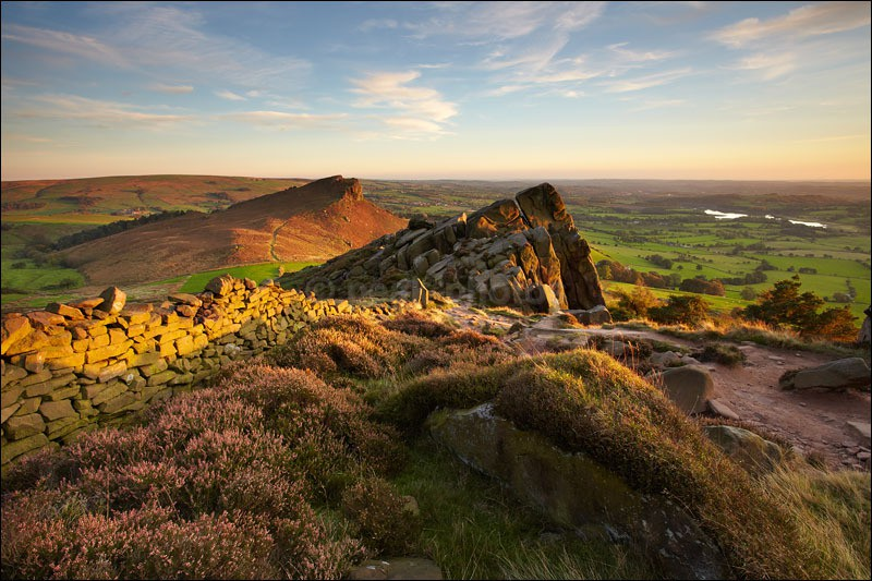 The Roaches Sunset - Peak District | Dark Peak