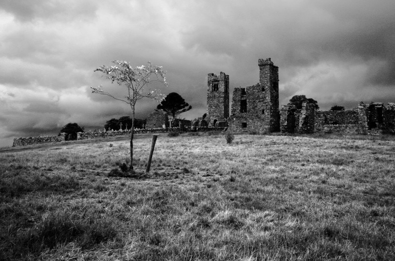 Hill of Slane - Ruins and Not So Ruined