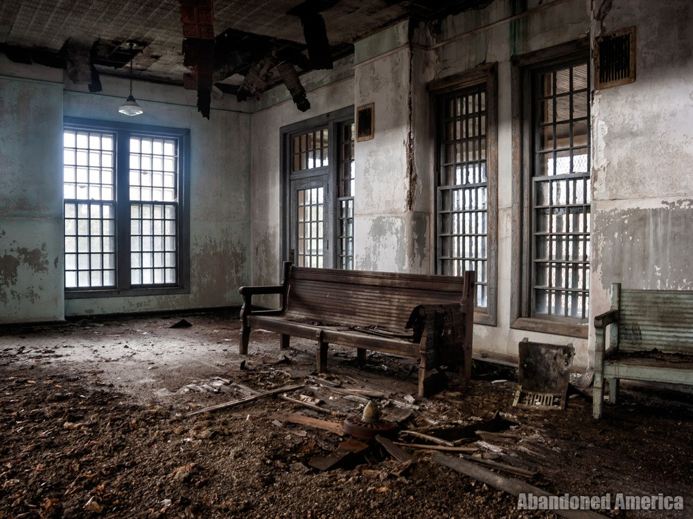 Day room, Taunton State Hospital