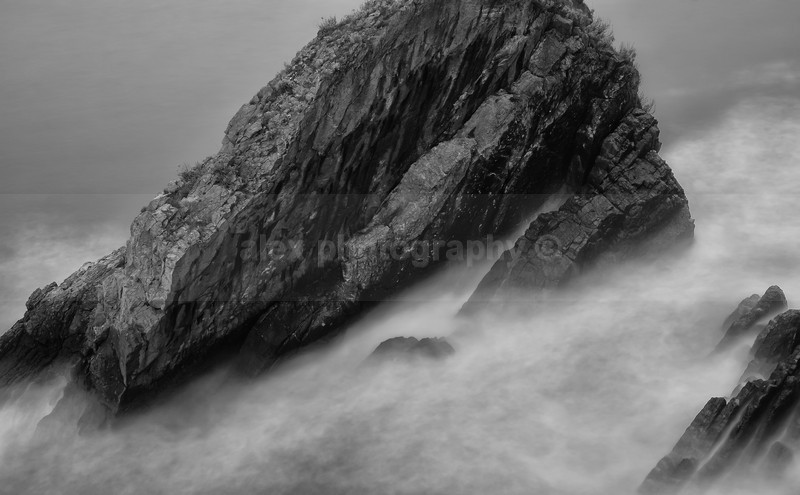 Beaten Rock, Devon - Landscape & Seascape