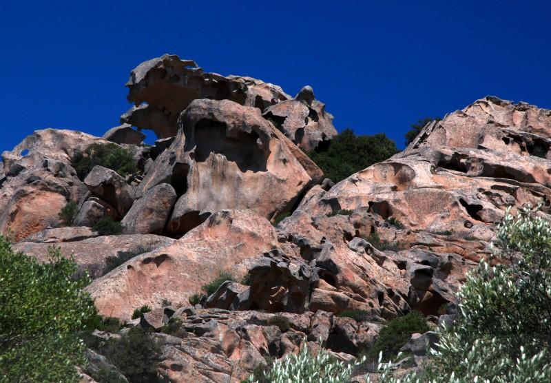 Capa D Orso Bear Rock - Sardinia and the Amalfi Coast