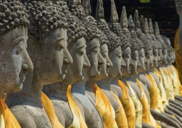 - Faces of Buddha