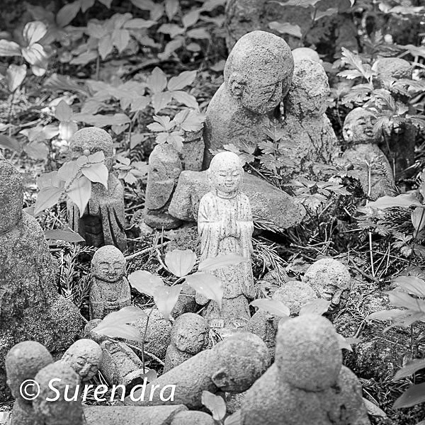 Nashinoki Jizo 3 - Jizo on Sado Island