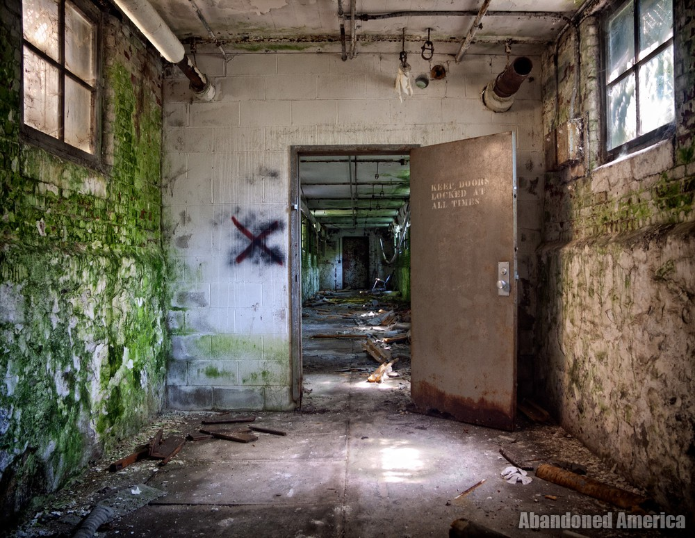 Tunnel Entrance | Norwich State Hospital