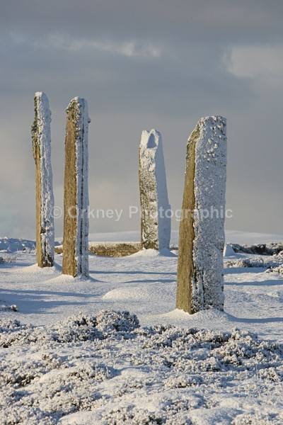 4 stones up - Orkney Images