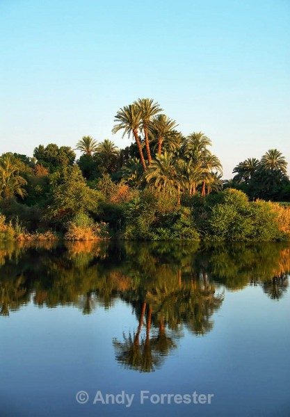 Reflections on the Nile - Egypt