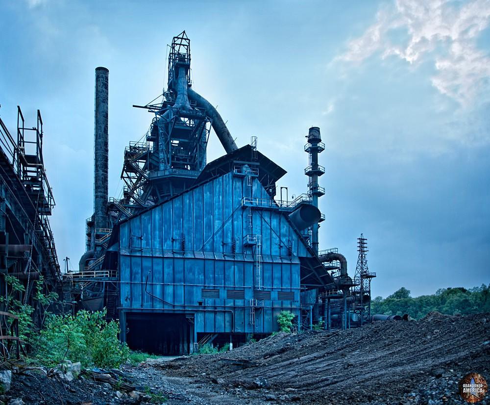 Bethlehem Steel (Bethlehem, PA)   Blast Furnaces - Bethlehem Steel
