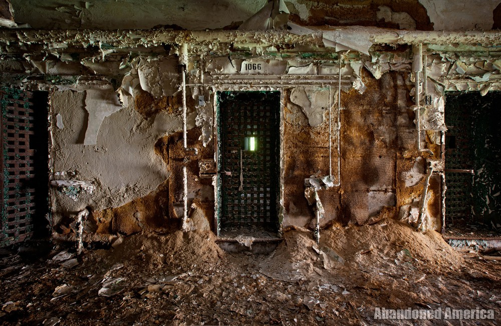 Crumbling doorway, Holmesburg Prison, Philadelphia PA | Abandoned America by Matthew Christopher