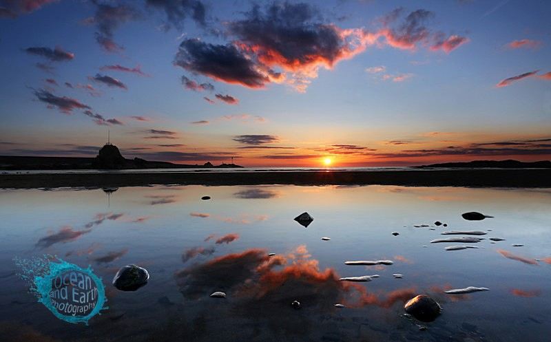 Summerleaze Reflected - Seascapes