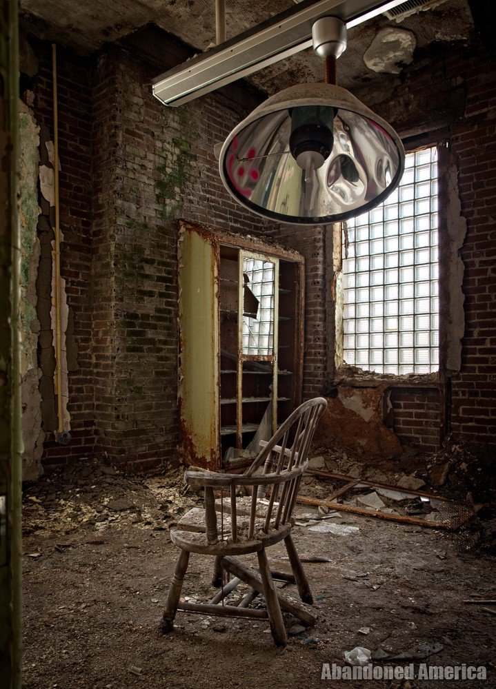 Pennhurst State School (Spring City, PA) | Operating Room - Pennhurst State School and Hospital