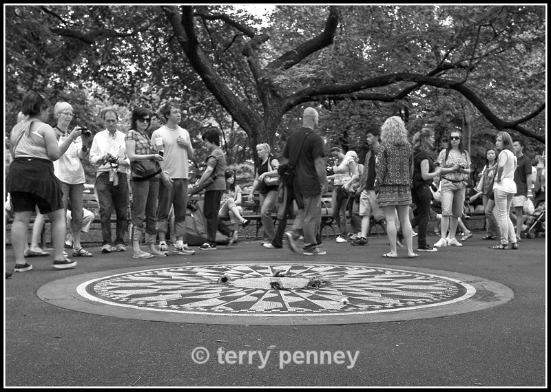 Imagine Mosaic 2, Strawberry Fields, Central Park, New York - New York
