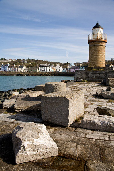 Portpatrick Lighthouse - Dumfries and Galloway