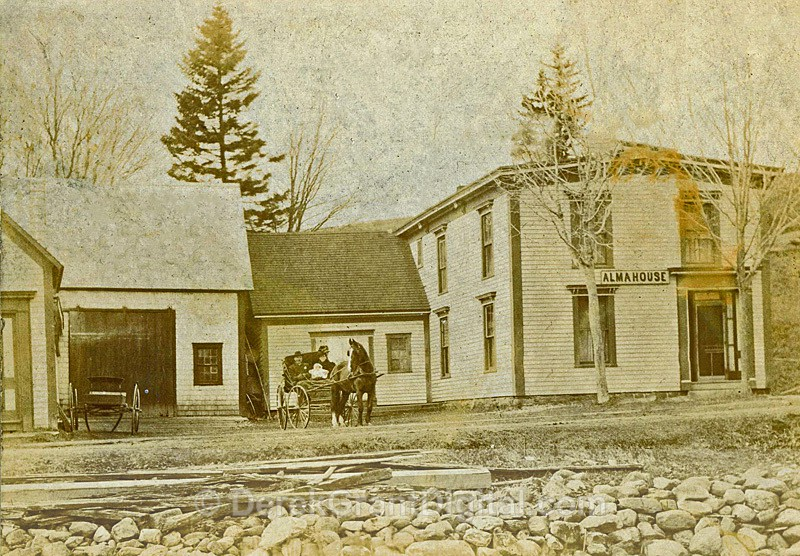 Alma House Alma Albert County New Brunswick Canada - Historic New Brunswick
