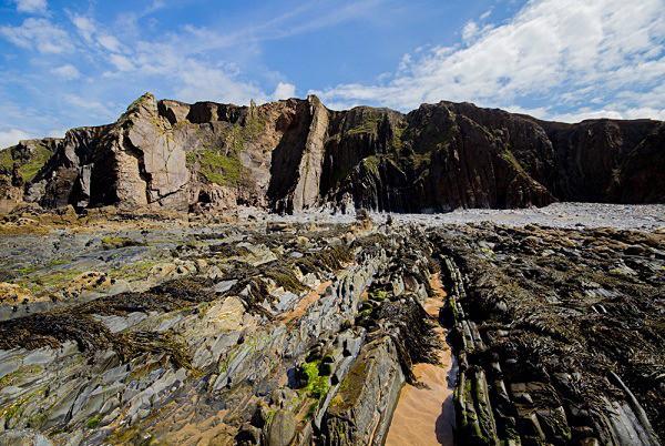 Cliffs at Sandymouth - Cornwall
