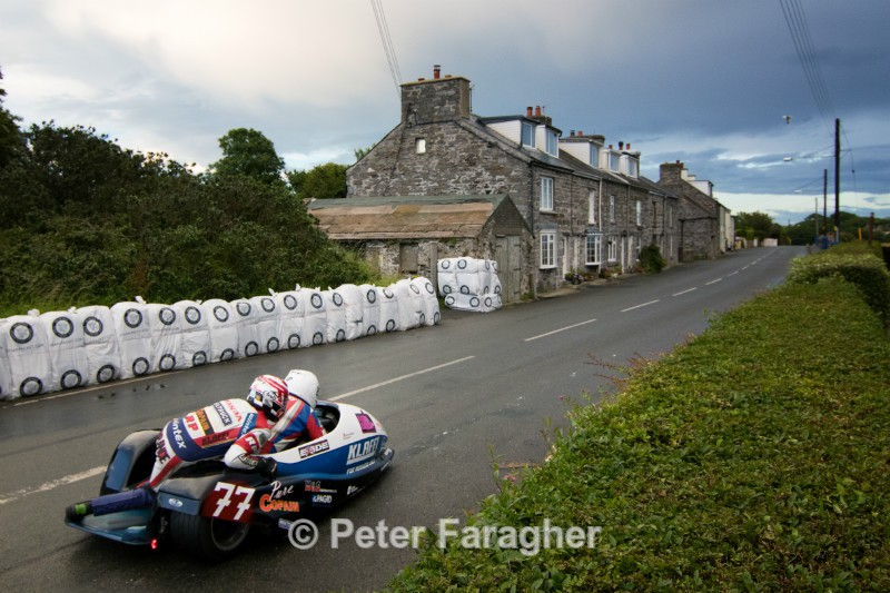 Tim Reeves and Pat Farrance - Southern 100 Road Races