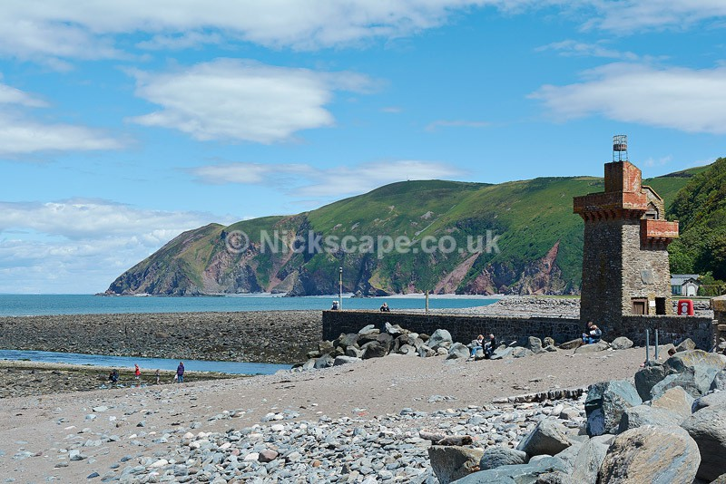 Low Tide at Lynmouth - Exmoor National Park - Exmoor