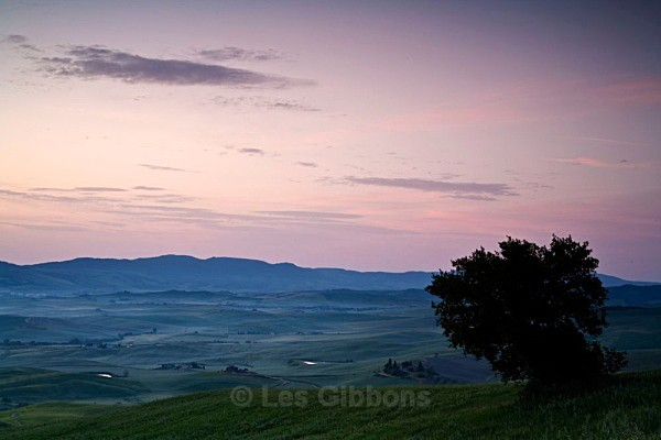 valley dawn - Tuscany