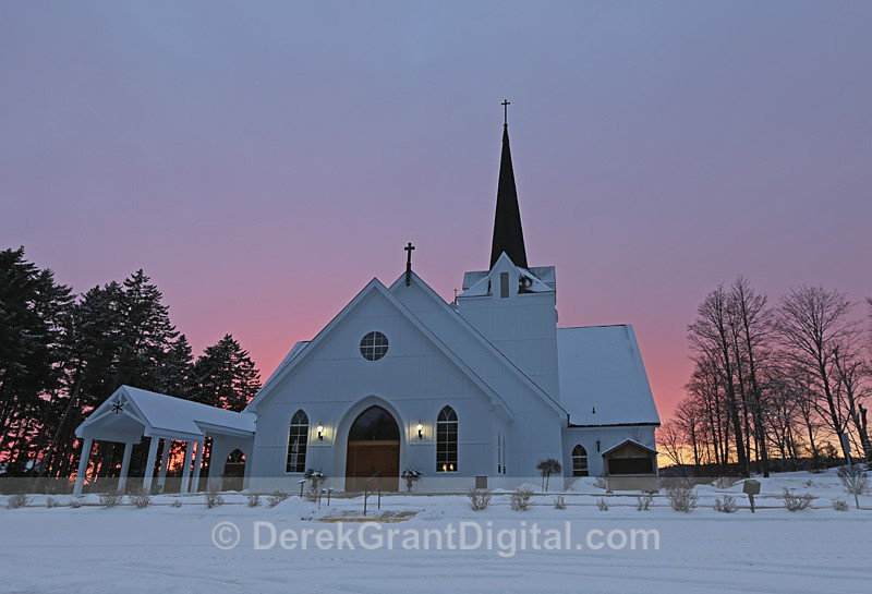 Our Lady of Perpetual Help Rothesay, New Brunswick Canada - Churches of New Brunswick