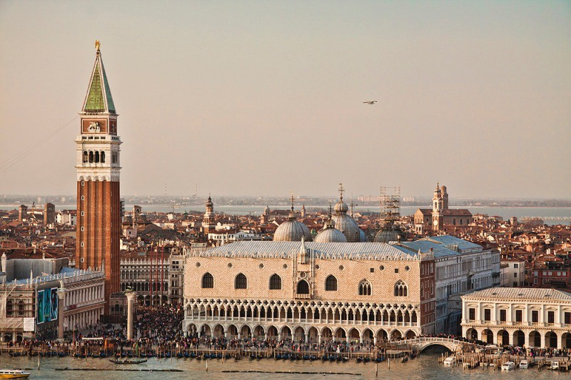 Doges Palace and Campanile - Venice