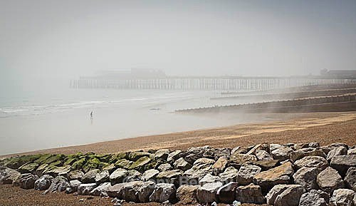 Hastings Pier in the Mist - Landscapes