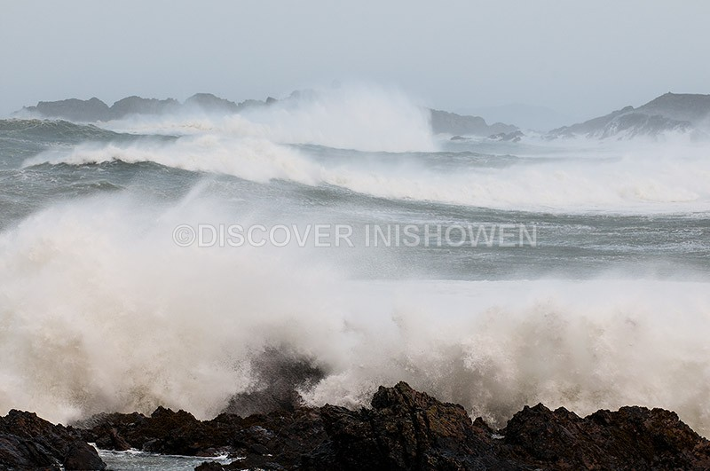 Malin Head Coast - Black Wednesday-Weather Bomb