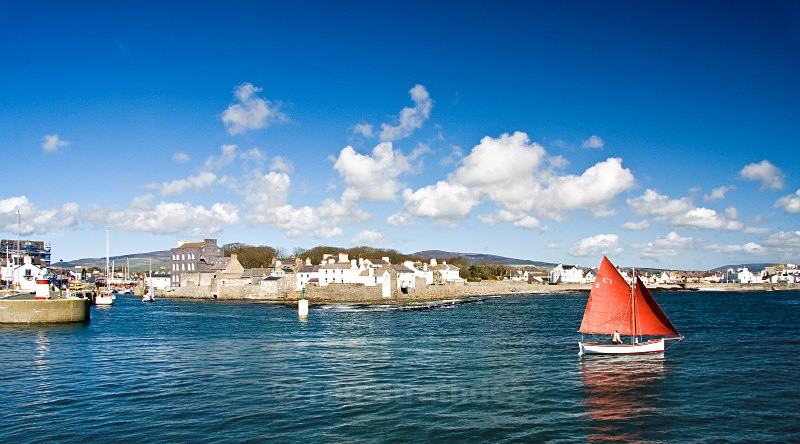 Setting sail from Castletown Bay - Sea of Man