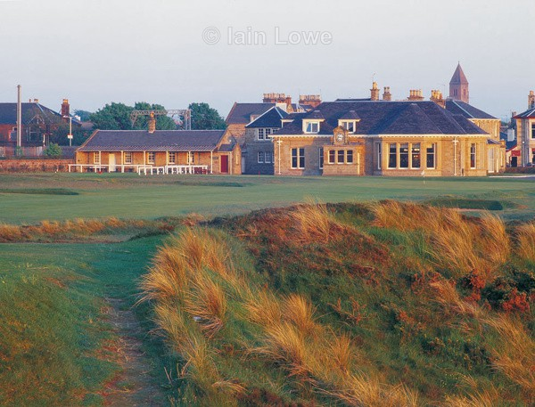 Prestwick clubhouse  18th - Prestwick Golf Links