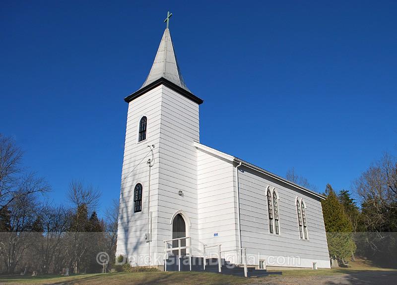 St. Paul's Anglican Church, Whitehead New Brunswick Canada - 1 - Churches of New Brunswick