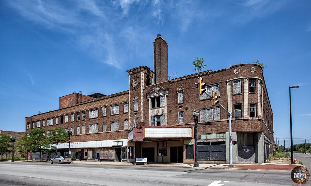 Gary, Indiana   Palace Theatre Exterior - Gary, Indiana