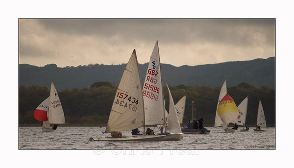 Late Afternoon Dinghy Racing - Sports/Action Images