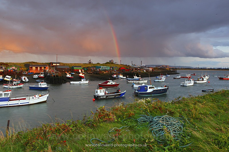 Paddys hole South Gare - North Yorkshire and Cleveland