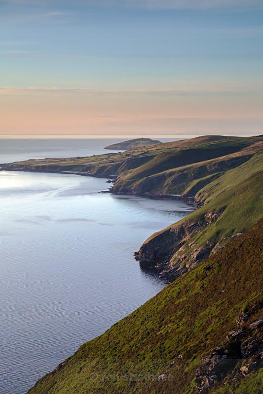 The West Coast looking North towards Peel. - Sea of Man