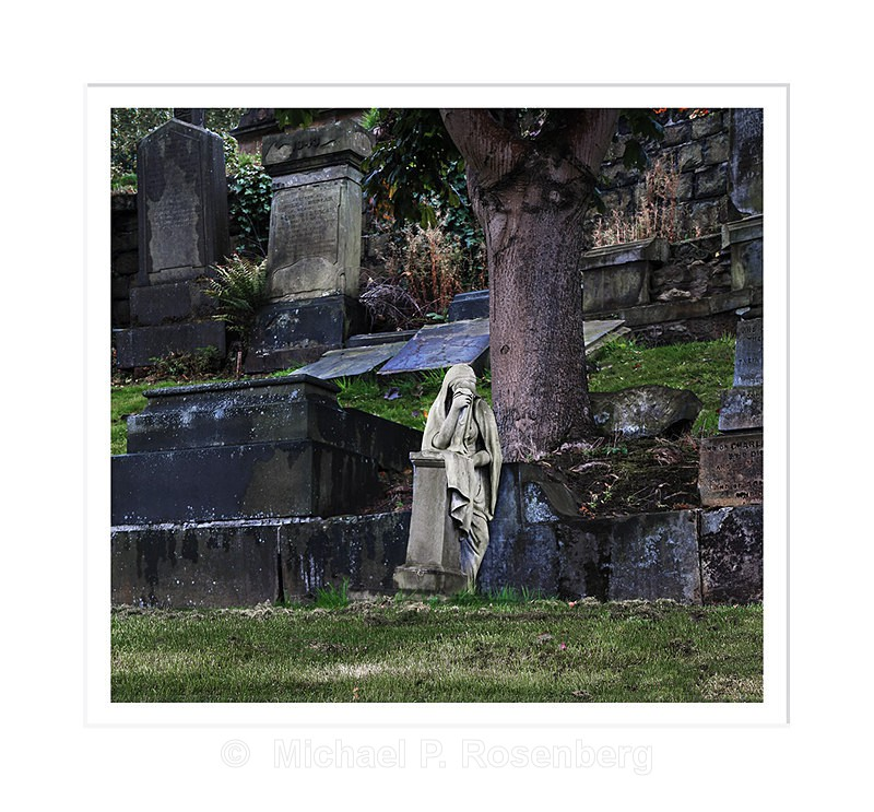 Weeping Angel, Necroipolis, Glasgow Scotland - Scotland, UK