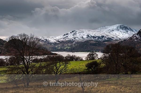 Snow over Ullswater - Lakedistrict