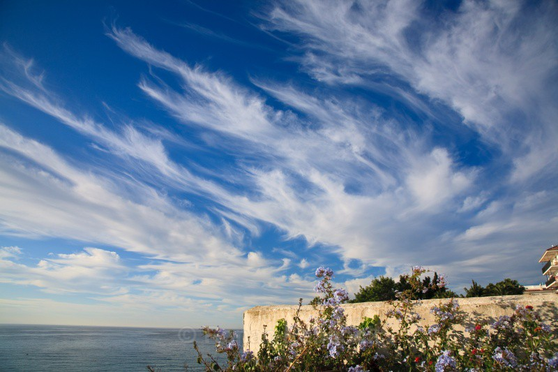 Nerja Clouds - Shapes and Skies