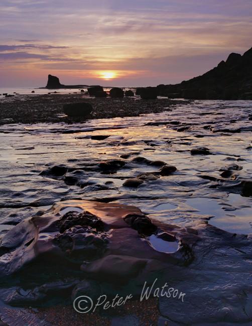 Saltwick Bay North Yorkshire England - Seascapes