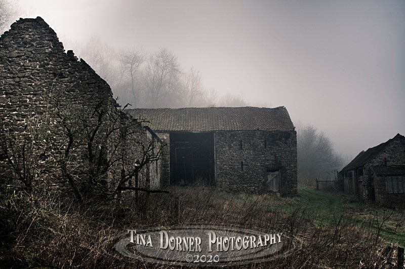 Derelict Barn on abandoned Farm. Forest of Dean and Wye Valley Portfolio by Tina Dorner Photography