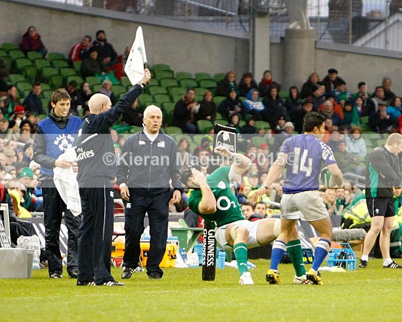 _I2H6095 - Ireland v Samoa - Guinness Series - Aviva Stadium - Dublin - 13/11/2010 Ireland 20 v 10 Samoa