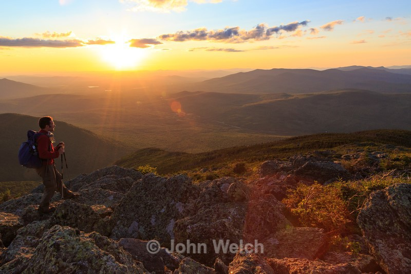 Sunset in the Northern Presidentials - White Mountain National Forest and Northern New Hampshire