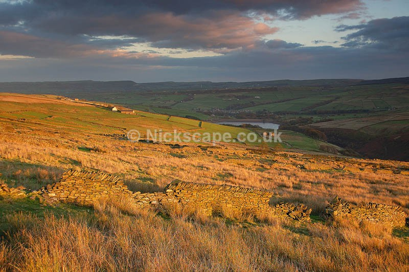 Bradshaw Moor looking towards Holmfirth | Summer Wine Landscape Photography