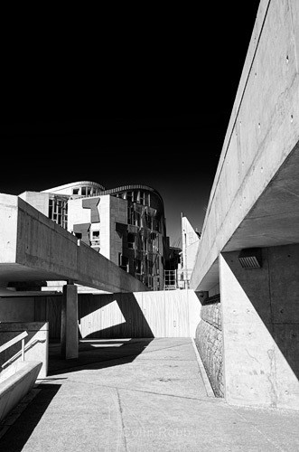 Lines and angles on the Scottish Parliament - Assorted!