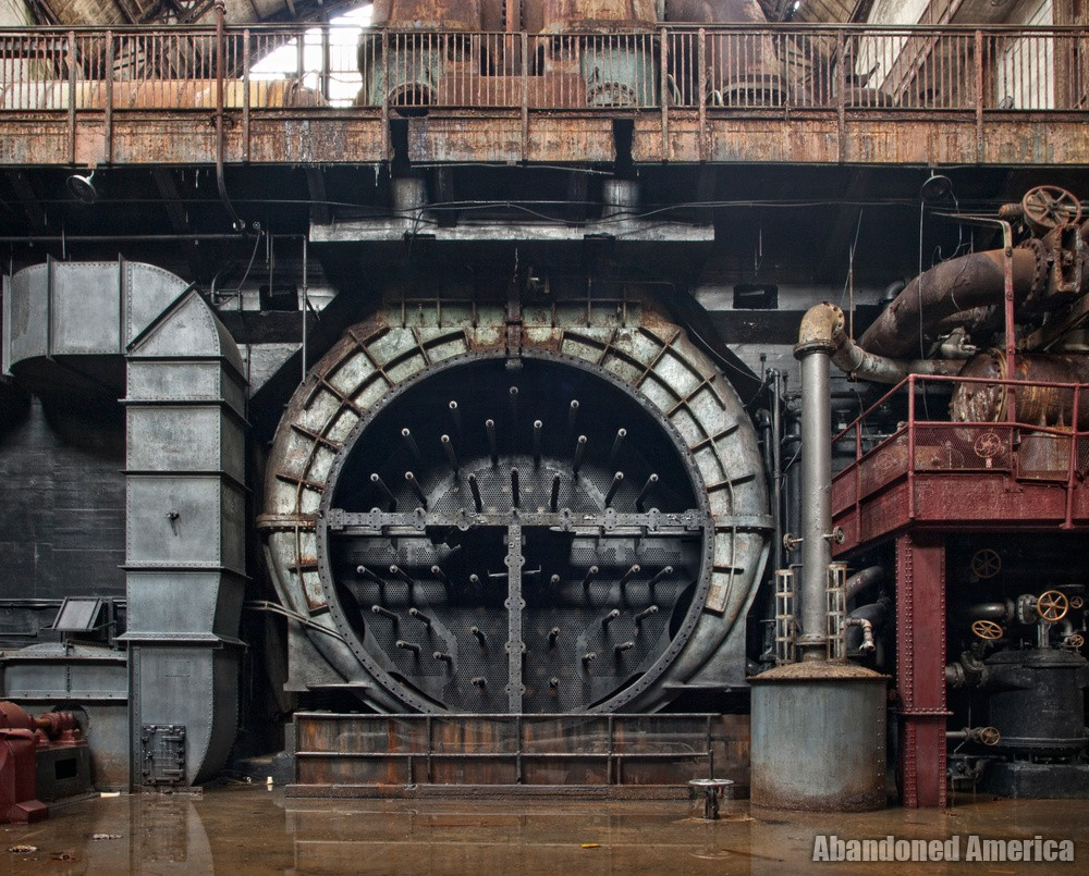 echoes from the life behind - Portside Power Plant*