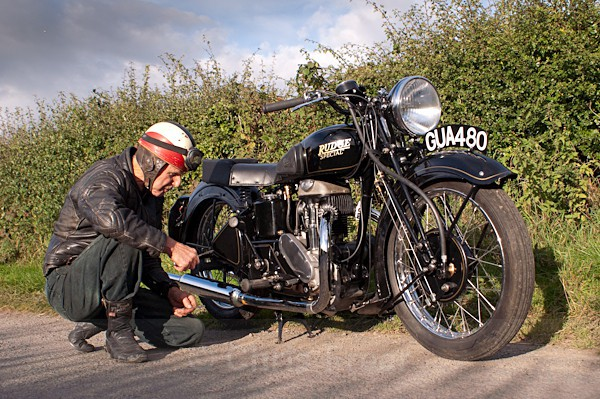 12 - Rudge Motorcycle Restoration