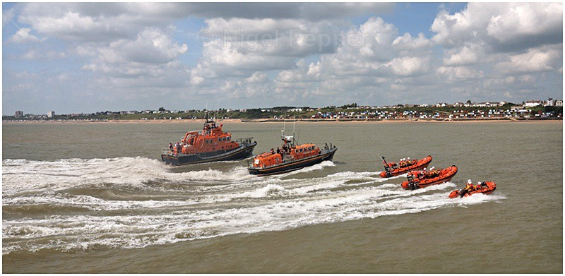 Lifeboat Formation - Lifeboats