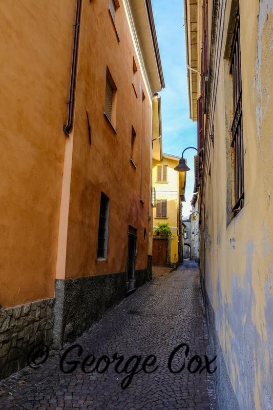 Narrow Street - Tirano - Switzerland