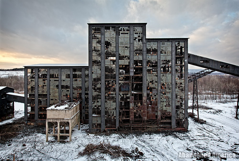 Abandoned Huber Coal Breaker (Ashley, PA)  | Abandoned America